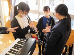 0213 部活動体験(吹奏楽)