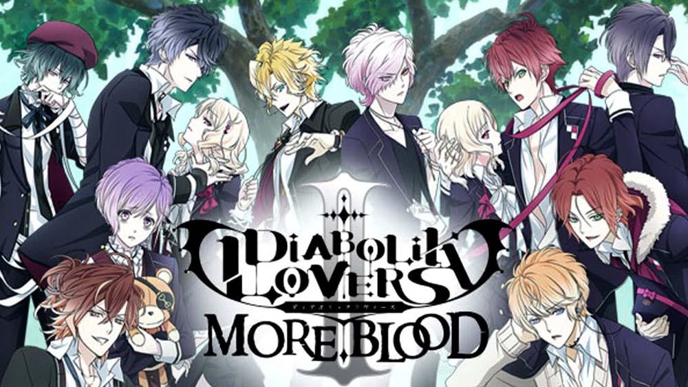 「DIABOLIK LOVERS MORE,BLOOD」 というアニメはどう?!