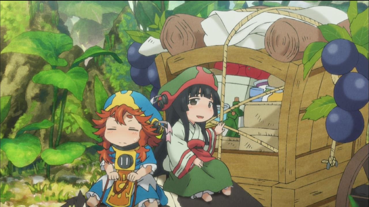 今夜はね「ハクメイとミコチ」ってアニメを観るよ!www