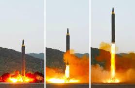 北朝鮮が新型ミサイル発射