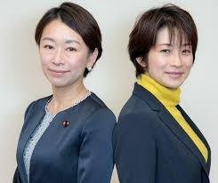 山尾&望月記者が意気投合