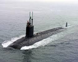 米軍の攻撃型原潜「バージニア」
