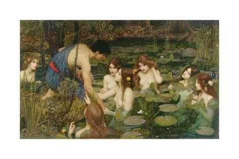 19世紀に描かれた油絵