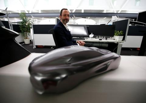 未来の電気自動車はガラスの球体のようなデザインになる