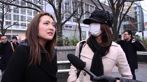 日本で行われた街頭インタビュー