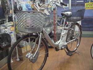 ... 様が乗られている電動自転車も
