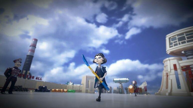 『The Tomorrow Children(トゥモロー チルドレン)』は、SIE JAPAN Studioと気鋭の開発スタジオ・Q,Games(キュー・ゲームス)のタッグが送り出すオンライン専用