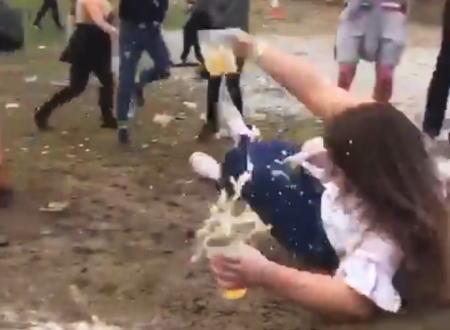 みんながビールを失いまくる危険な丘www爆笑しすぎやろwww