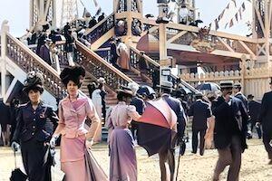 1900年、今から120年前のパリの休日を撮影した映像が映画の中みたい。4K、50fps