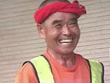 スーパーボランティアの尾畠春夫さん、東京から大分1320キロを歩いて帰る 全て野宿