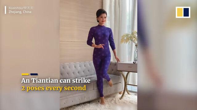 怒涛の連続ポーズ決め。15秒間で30ポーズ、中国のプロのモデルさんが凄い