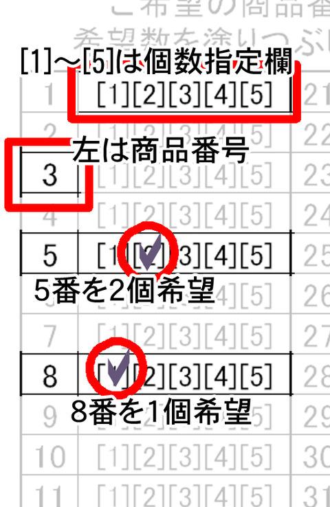 注文カード2014見本