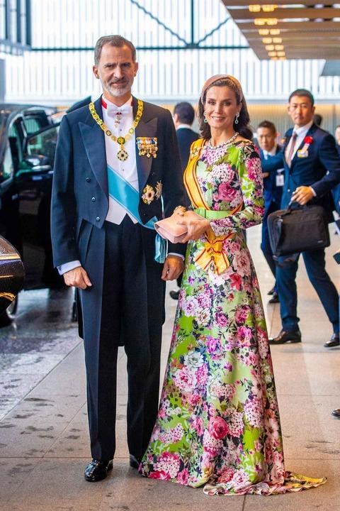 スペイン王室のフェリペ6世国王とレティシア王妃。
