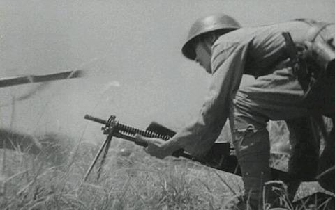 「土と兵隊」の十一年式軽機関銃3の画像