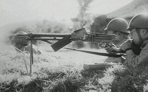 「土と兵隊」の十一年式軽機関銃2の画像