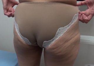 おばさん無料むしゆうせい動画 ベージュ色の下着がよく似合う巨尻のおばさん!