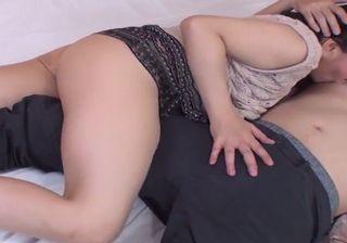 【無修正エロ動画】50代の熟年女性がラブホで不倫セックス!