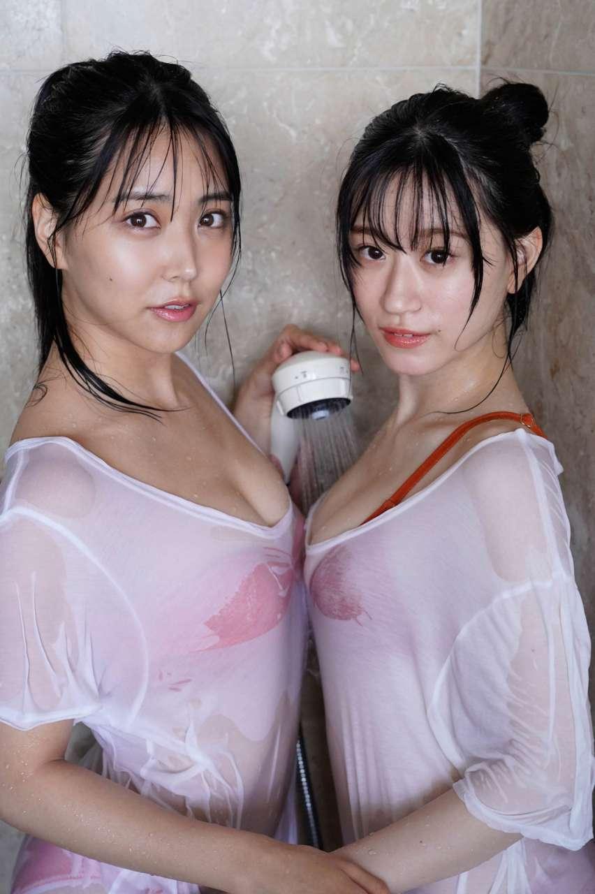 白間美瑠&上西怜エロ画像