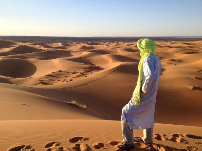 人気のロケ地砂漠