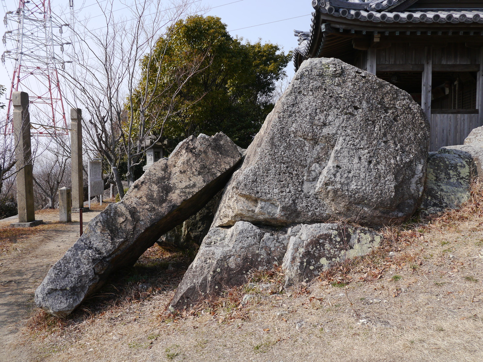 姫路の木庭神社の磐座-2 : 火(...