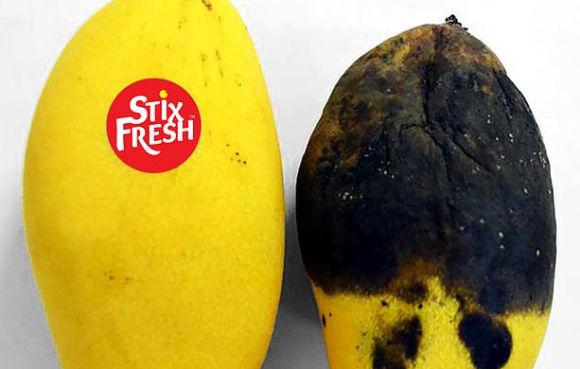 貼るだけで果物が長持ちするシールが開発される(マレーシア)