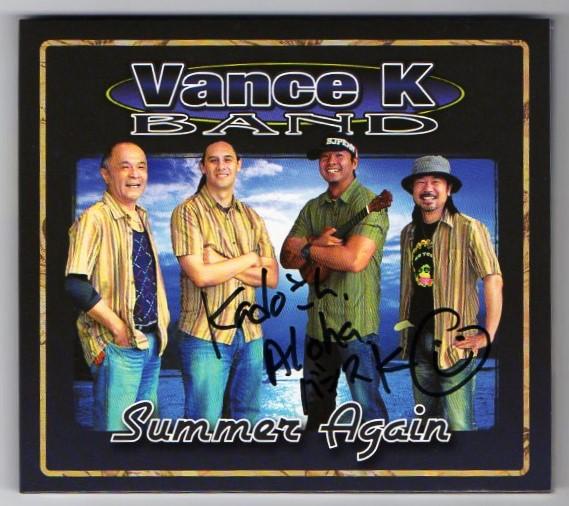 Vance K BAND Summer Again