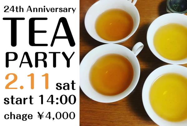 11 TEA PARTY