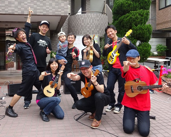 Rockin' ukulele Band