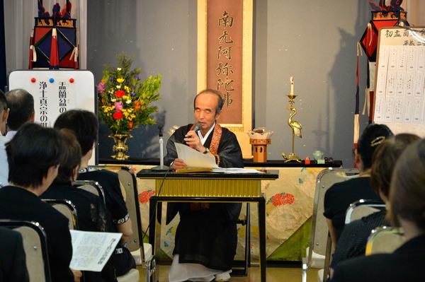 安楽寺盂蘭盆会法要2015