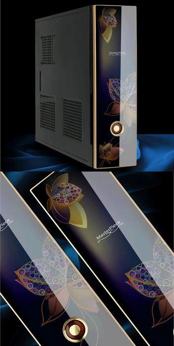ATX電源搭載可能なコンパクトケース