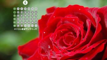 2009年6月カレンダー D40