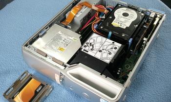 ハードディスをSSD C300