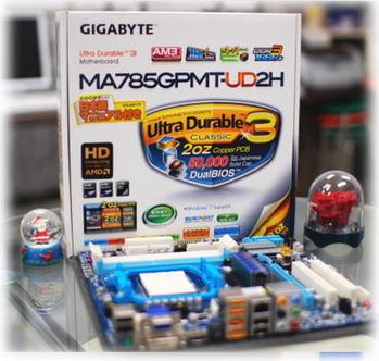 Athlon� X4 620 GIGABYTE GA-MA785GPMT-UD2H