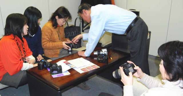 ニコン一眼レフデジタルカメラD40・D40X・D80・D300入門講習会