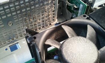 DELL パソコン内部清掃