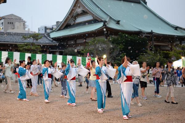 東別院 御坊夏祭り盆踊り2014
