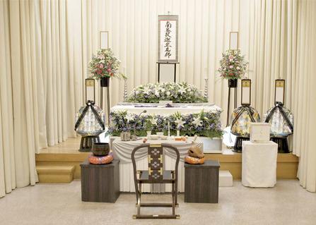 堺斎場で家族葬