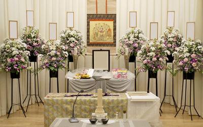 堺市立斎場の小式場でご葬儀