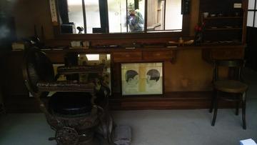 レトロ理髪店