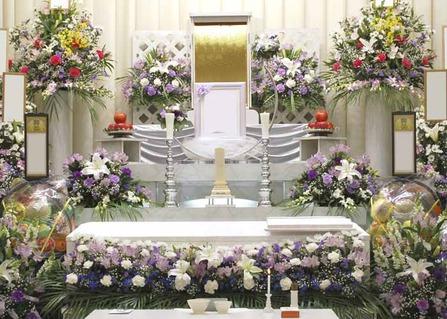 友人葬の祭壇