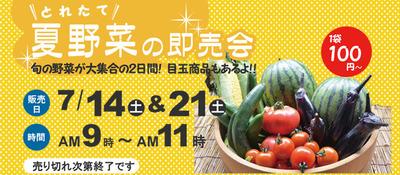 野菜即売会