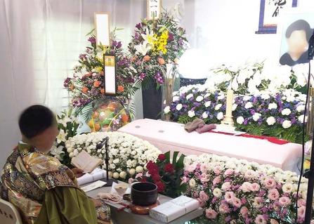 堺市北区 自宅で葬儀