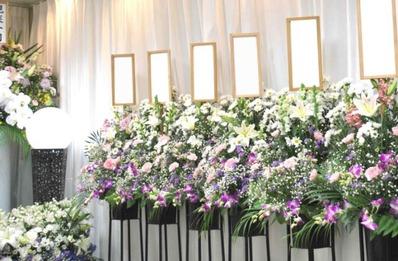 集会場の葬儀