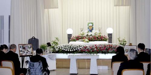 無宗教葬の様子