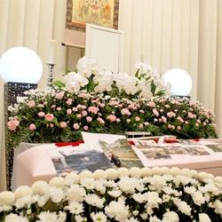 堺市立斎場の祭壇