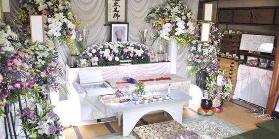 自宅での葬儀