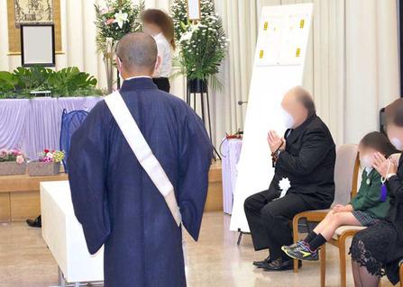 堺市立斎場・小式場にて家族葬