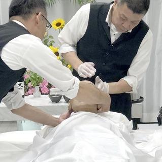 参加型の納棺式