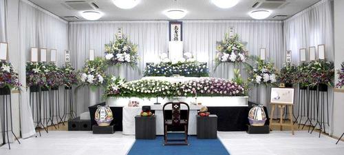 地域集会所で葬儀