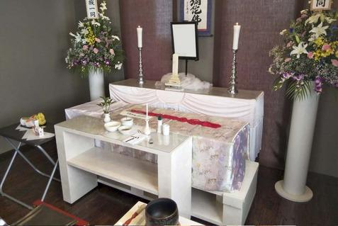 サザンカ・祭壇